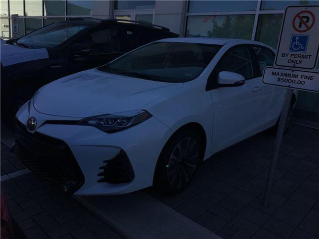 2018 Toyota Corolla SE (Stk: M180034) in Mississauga - Image 1 of 5