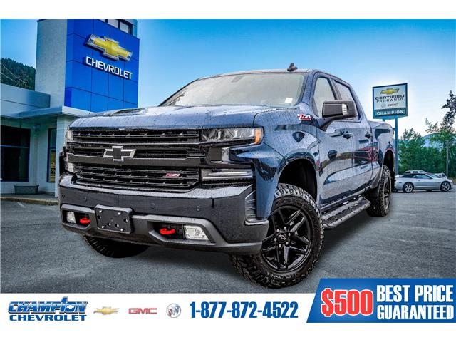 2021 Chevrolet Silverado 1500 LT Trail Boss (Stk: 21-41) in Trail - Image 1 of 26
