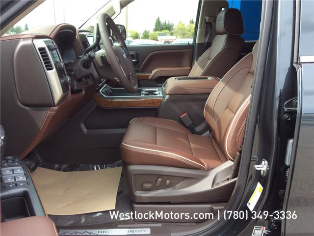 2018 Chevrolet Silverado 1500 High Country (Stk: 18T19) in Westlock - Image 17 of 30