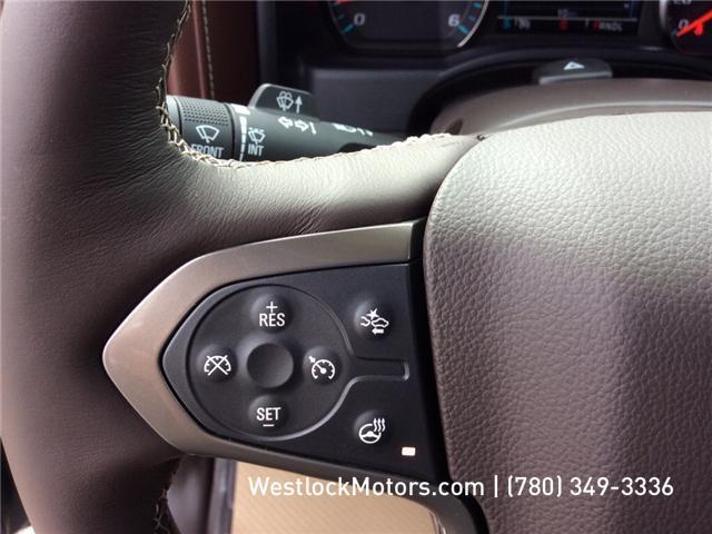 2018 Chevrolet Silverado 1500 High Country (Stk: 18T19) in Westlock - Image 19 of 30