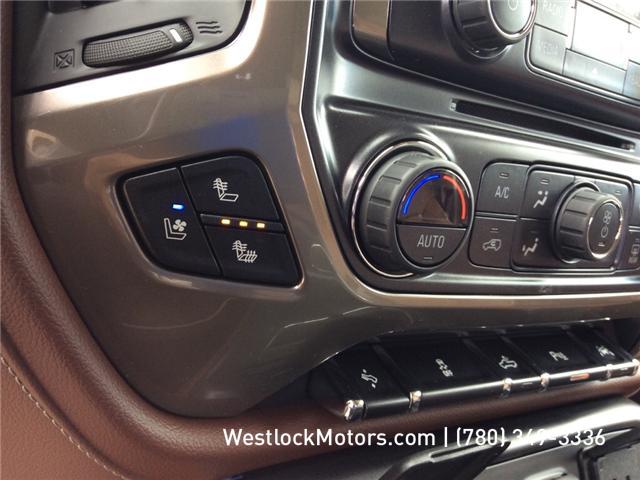 2018 Chevrolet Silverado 1500 High Country (Stk: 18T19) in Westlock - Image 24 of 30