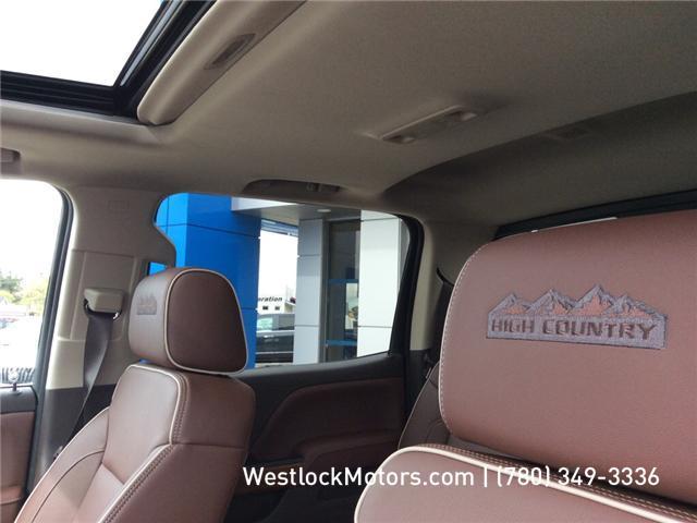 2018 Chevrolet Silverado 1500 High Country (Stk: 18T19) in Westlock - Image 30 of 30