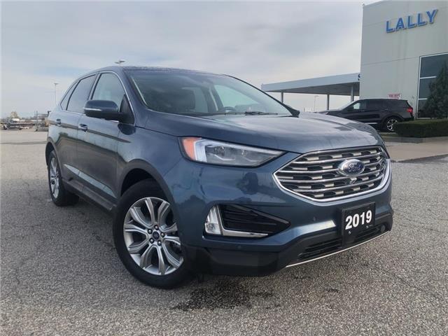 2019 Ford Edge Titanium (Stk: S10563R) in Leamington - Image 1 of 24