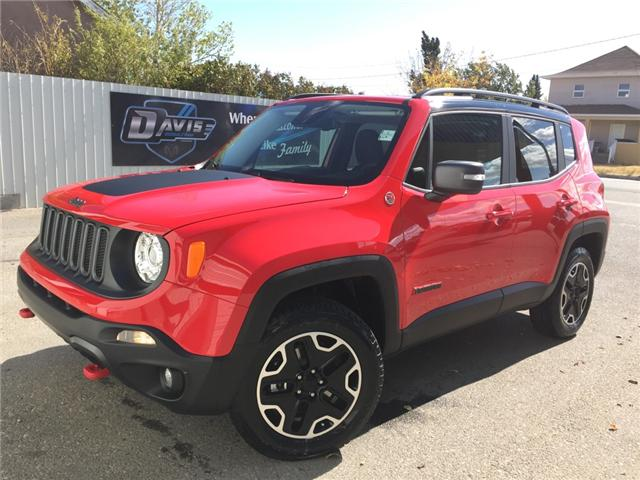 2017 Jeep Renegade Trailhawk (Stk: 11447) in Fort Macleod - Image 1 of 24