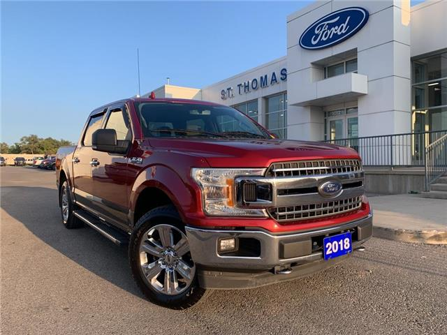 2018 Ford F-150 XLT (Stk: T0477A) in St. Thomas - Image 1 of 26