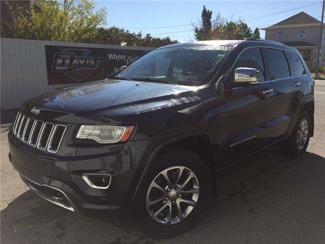 2014 Jeep Grand Cherokee Overland (Stk: 8945) in Fort Macleod - Image 1 of 25
