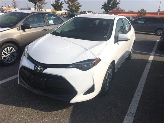 2018 Toyota Corolla LE (Stk: M180100) in Mississauga - Image 1 of 5
