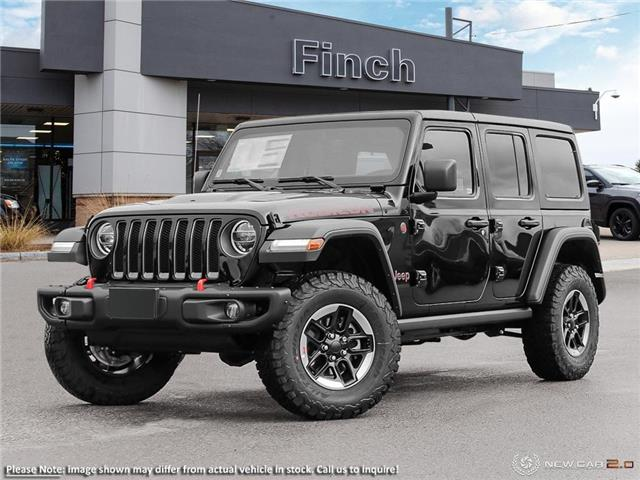 2021 Jeep Wrangler Unlimited Rubicon (Stk: 99906) in London - Image 1 of 24