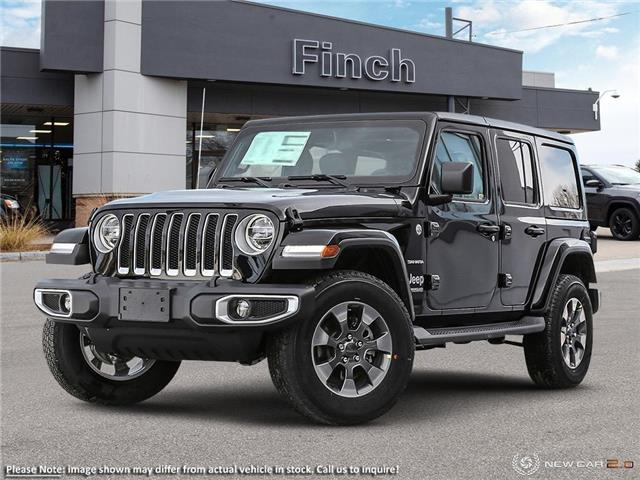 2021 Jeep Wrangler Unlimited Sahara (Stk: 99691) in London - Image 1 of 24