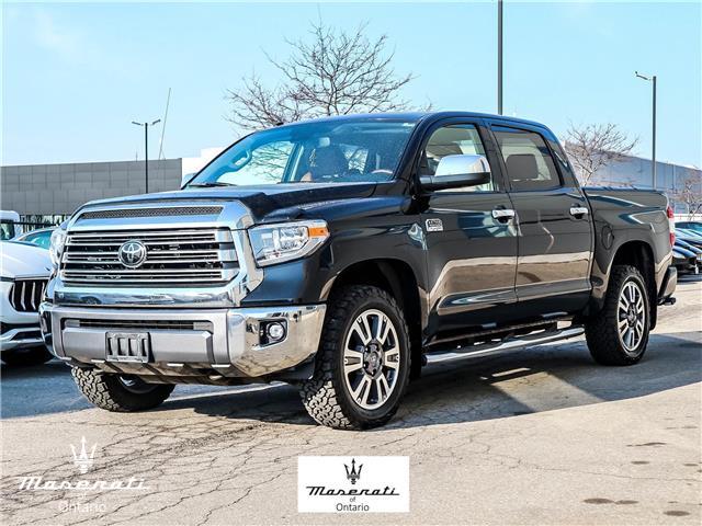 2018 Toyota Tundra Platinum 5.7L V8 (Stk: MU0074) in Vaughan - Image 1 of 30