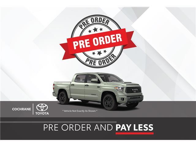 New 2021 Toyota Tundra CREWMAX SR5 Pre-Order and Save - SR5 - Cochrane - Cochrane Toyota