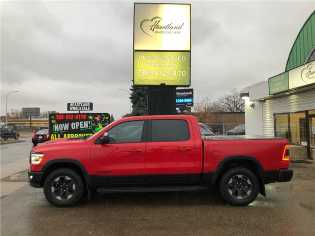 2019 RAM 1500 Rebel (Stk: HW1033) in Edmonton - Image 1 of 40