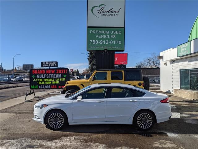 2017 Ford Fusion SE (Stk: WB0029) in Edmonton - Image 1 of 32