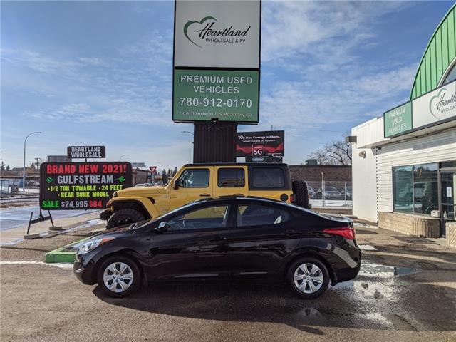 2013 Hyundai Elantra GL (Stk: WB0020A) in Edmonton - Image 1 of 24