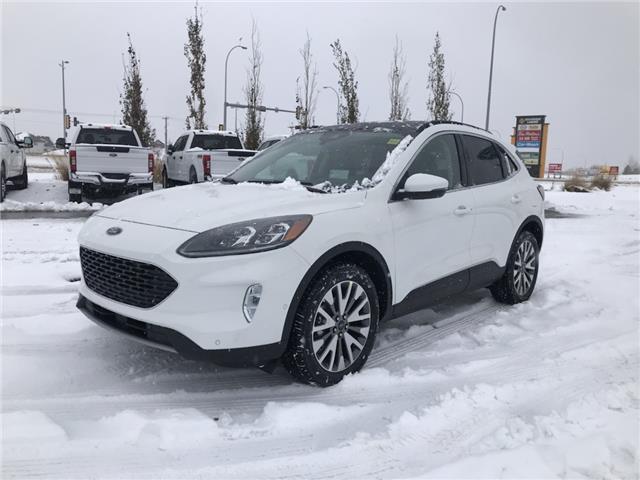 2020 Ford Escape Titanium Hybrid (Stk: LSC073) in Fort Saskatchewan - Image 1 of 21