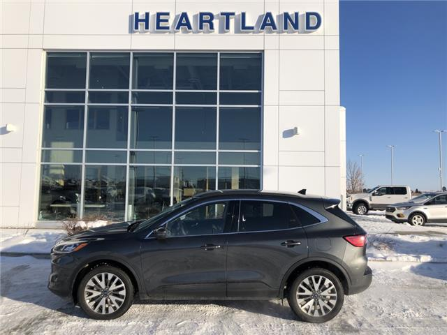 2020 Ford Escape Titanium (Stk: R10853) in Fort Saskatchewan - Image 1 of 26