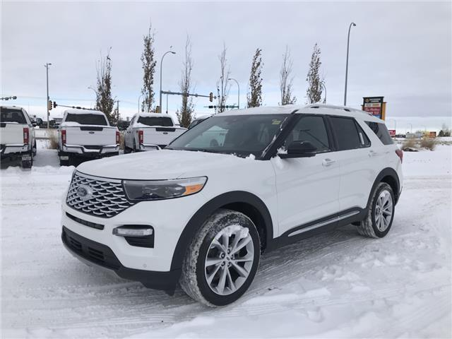 2021 Ford Explorer Platinum (Stk: MEX011) in Fort Saskatchewan - Image 1 of 23