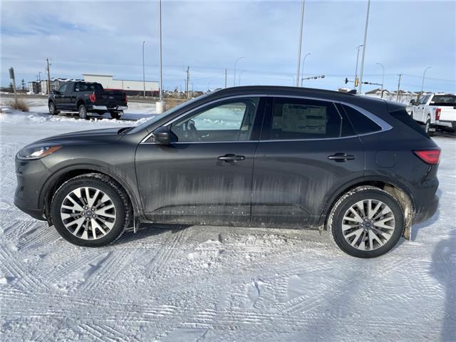 2020 Ford Escape Titanium Hybrid (Stk: LSC085) in Fort Saskatchewan - Image 1 of 22