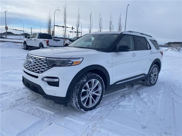 2021 Ford Explorer Platinum (Stk: MEX025) in Fort Saskatchewan - Image 1 of 16