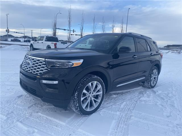 2021 Ford Explorer Platinum (Stk: MEX029) in Fort Saskatchewan - Image 1 of 23