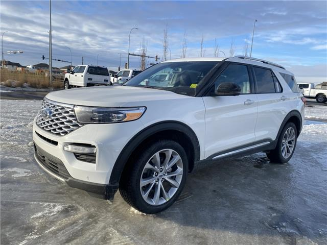 2021 Ford Explorer Platinum (Stk: MEX034) in Fort Saskatchewan - Image 1 of 22