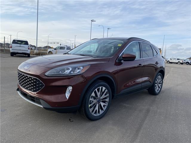2021 Ford Escape Titanium Hybrid (Stk: MSC005) in Fort Saskatchewan - Image 1 of 23