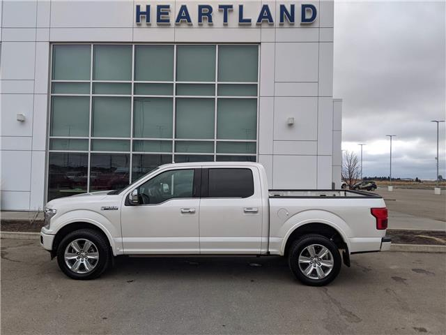 2019 Ford F-150 Platinum (Stk: MEP004A) in Fort Saskatchewan - Image 1 of 42