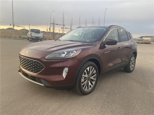 2021 Ford Escape Titanium Hybrid (Stk: MSC002) in Fort Saskatchewan - Image 1 of 22