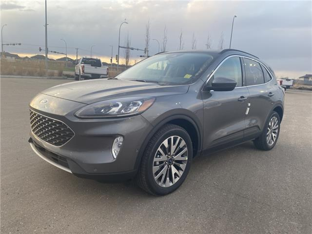 2021 Ford Escape Titanium Hybrid (Stk: MSC004) in Fort Saskatchewan - Image 1 of 23