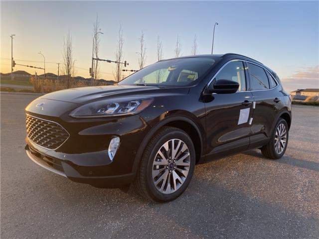 2021 Ford Escape Titanium Hybrid (Stk: MSC008) in Fort Saskatchewan - Image 1 of 23