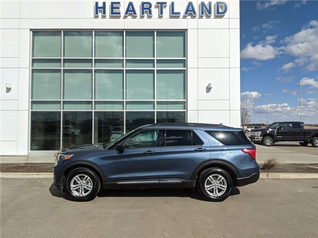 2020 Ford Explorer XLT (Stk: B10933) in Fort Saskatchewan - Image 1 of 46