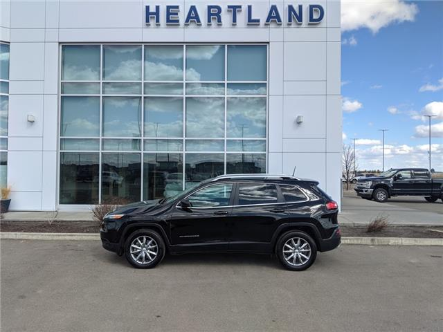 2017 Jeep Cherokee Limited (Stk: MBR011A) in Fort Saskatchewan - Image 1 of 43