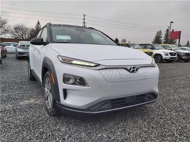 2021 Hyundai Kona EV Preferred w/Two Tone (Stk: R10377) in Ottawa - Image 1 of 15
