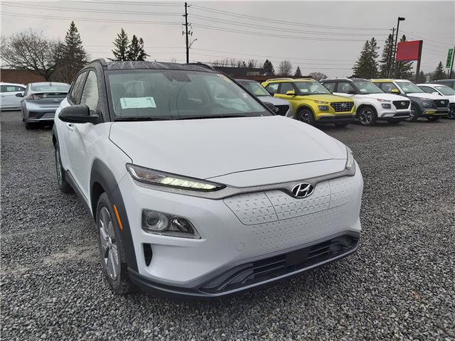 2021 Hyundai Kona EV Preferred w/Two Tone (Stk: R10380) in Ottawa - Image 1 of 14