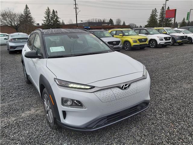 2021 Hyundai Kona EV Preferred w/Two Tone (Stk: R10373) in Ottawa - Image 1 of 14