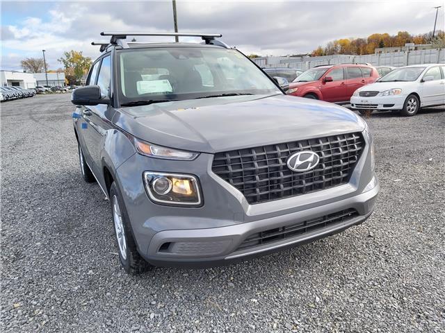 2021 Hyundai Venue Trend w/Urban PKG - Grey-Lime Interior (IVT) (Stk: R10356) in Ottawa - Image 1 of 9