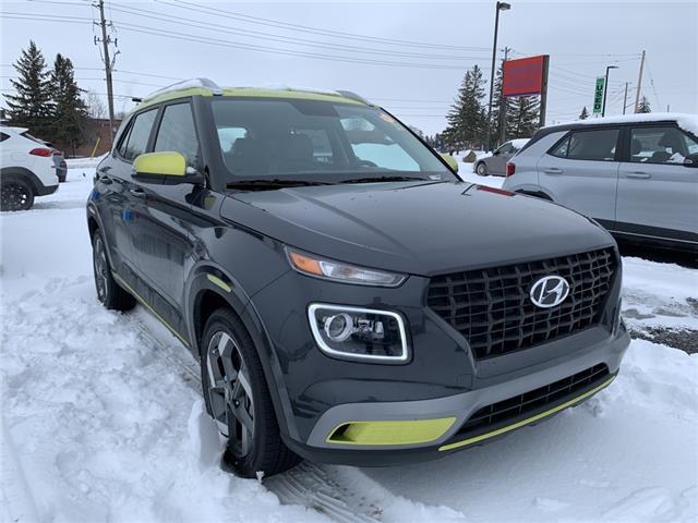 2021 Hyundai Venue Trend w/Urban PKG - Grey-Lime Interior (IVT) (Stk: R10355) in Ottawa - Image 1 of 14