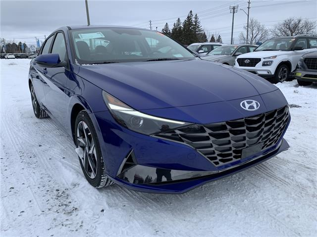 2021 Hyundai Elantra Ultimate w/Black Seats (Stk: R10499) in Ottawa - Image 1 of 19