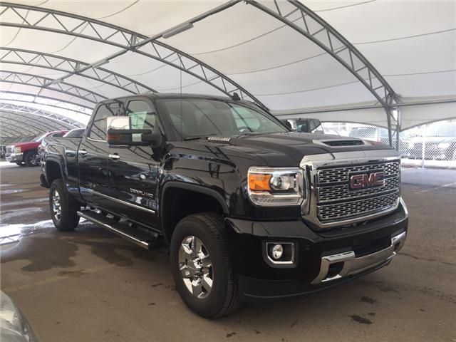 2018 GMC Sierra 3500HD Denali (Stk: 158238) in AIRDRIE - Image 1 of 25