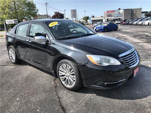 2014 Chrysler 200 Limited (Stk: 2834A) in Windsor - Image 1 of 12