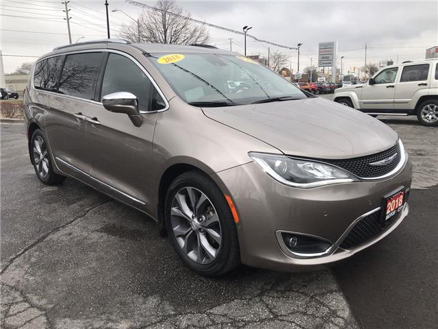 2018 Chrysler Pacifica Limited (Stk: 210251A) in Windsor - Image 1 of 14