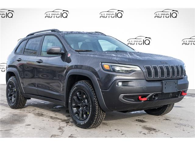 2021 Jeep Cherokee Trailhawk (Stk: 44348) in Innisfil - Image 1 of 25