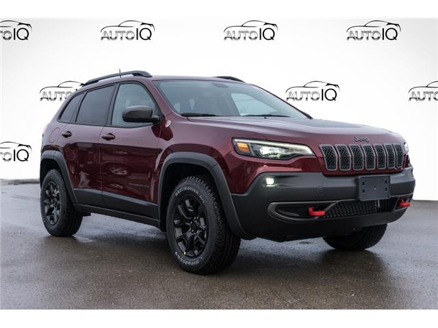 2021 Jeep Cherokee Trailhawk (Stk: 44249) in Innisfil - Image 1 of 25
