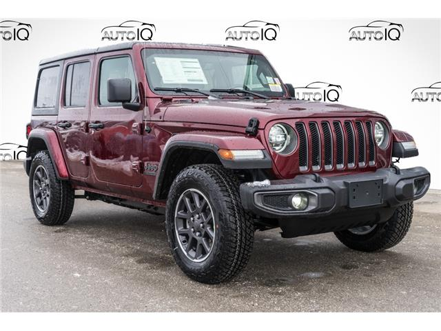 2021 Jeep Wrangler Unlimited Sport (Stk: 44398) in Innisfil - Image 1 of 18