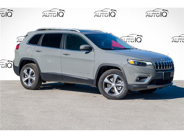 2021 Jeep Cherokee Limited (Stk: 34459) in Barrie - Image 1 of 30