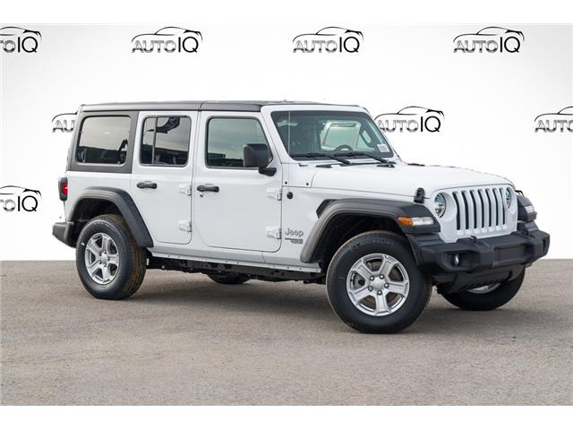 2021 Jeep Wrangler Unlimited Sport (Stk: 34299) in Barrie - Image 1 of 24