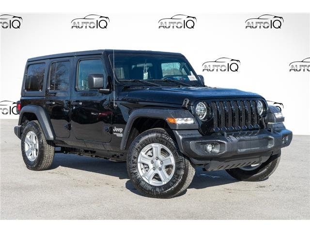 2021 Jeep Wrangler Unlimited Sport (Stk: 34271) in Barrie - Image 1 of 21