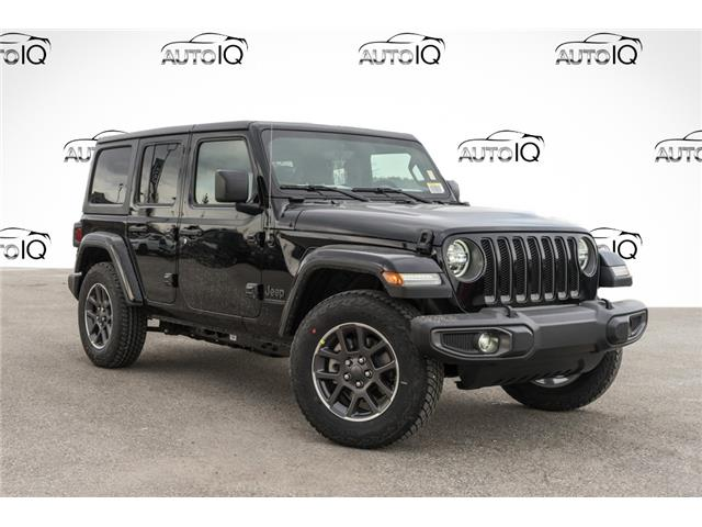 2021 Jeep Wrangler Unlimited Sport (Stk: 34600) in Barrie - Image 1 of 22