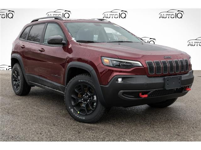 2021 Jeep Cherokee Trailhawk (Stk: 34596) in Barrie - Image 1 of 29