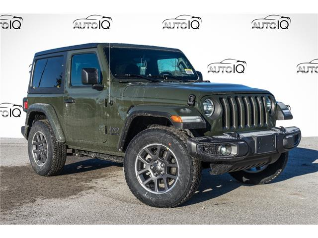 2021 Jeep Wrangler Sport (Stk: 34658) in Barrie - Image 1 of 23